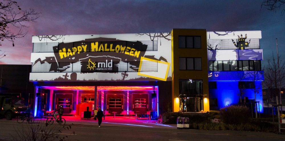Halloween-Party bei mld