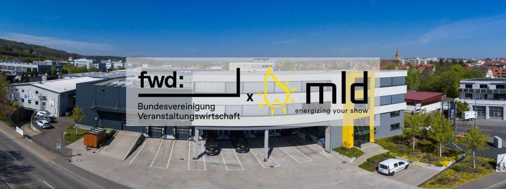 fwd: music & light design GmbH ist neues Mitglied
